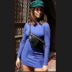 Urban Outfitters Gigi Turtleneck Mini Dress